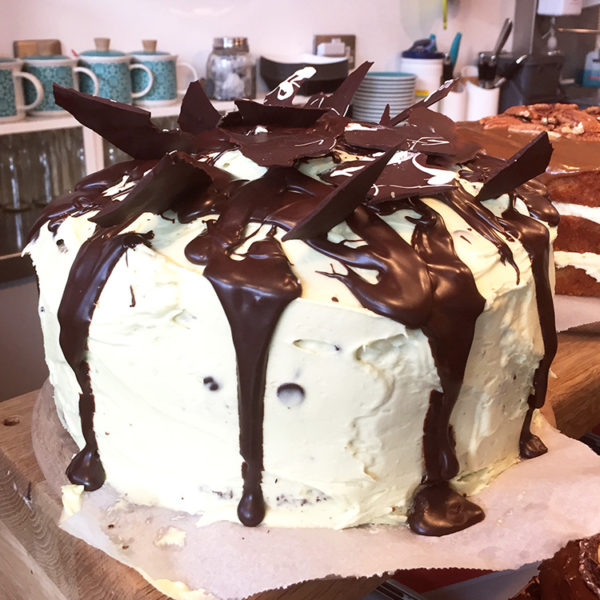 Chocolate & Mint Cake