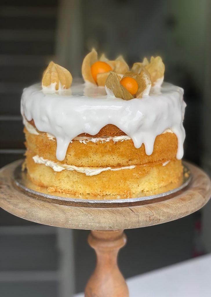 Fanny's Fancies Lemon Cake
