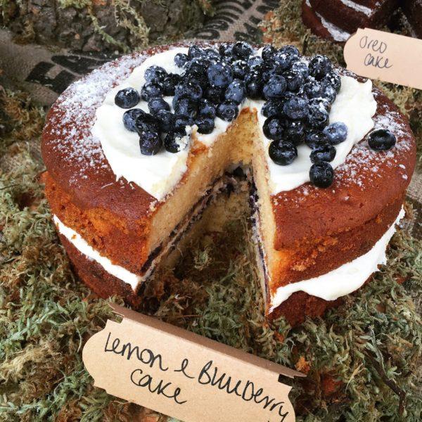 Blueberry & Lemon Cake