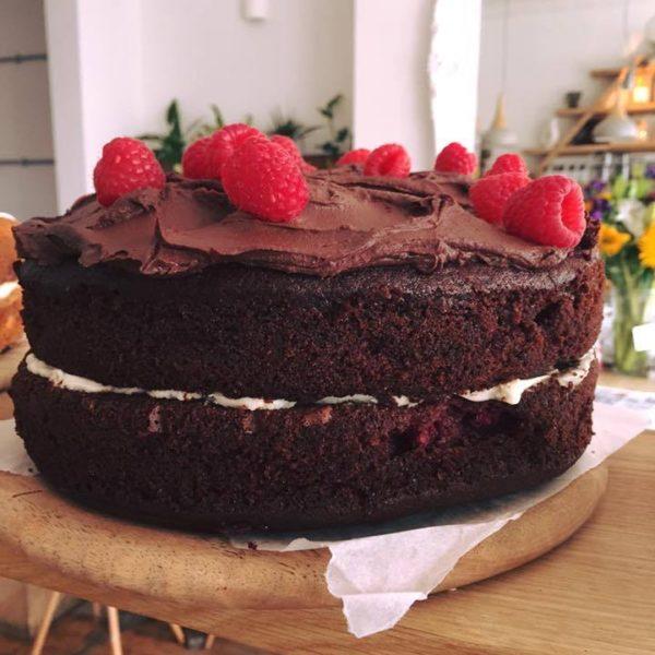 Chocolate & Rasberry Cake